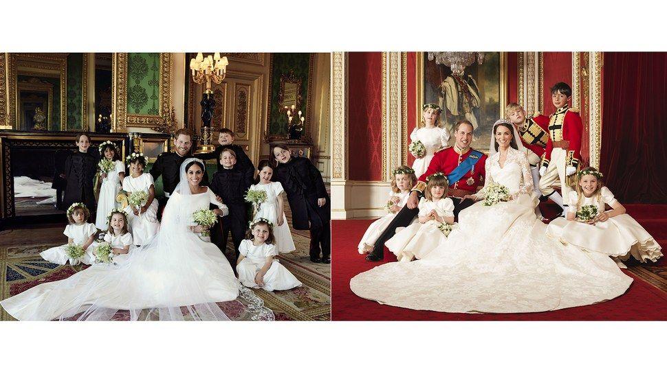 Meghan Markle Und Prinz Harry Vs Kate Middleton Und Prinz William Royale Hochzeitsbilder Im Vergleich Hochzeit Hochzeit Bilder Hochzeitsbilder