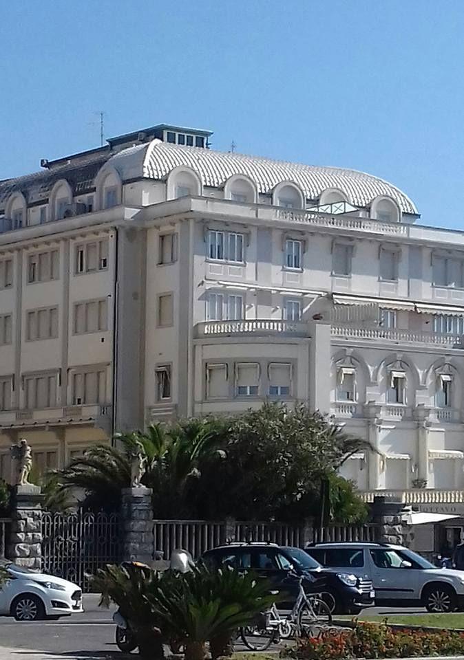 Viareggio Ex Hotel Kursaal Progettato Dall Arch Orsino Bongi