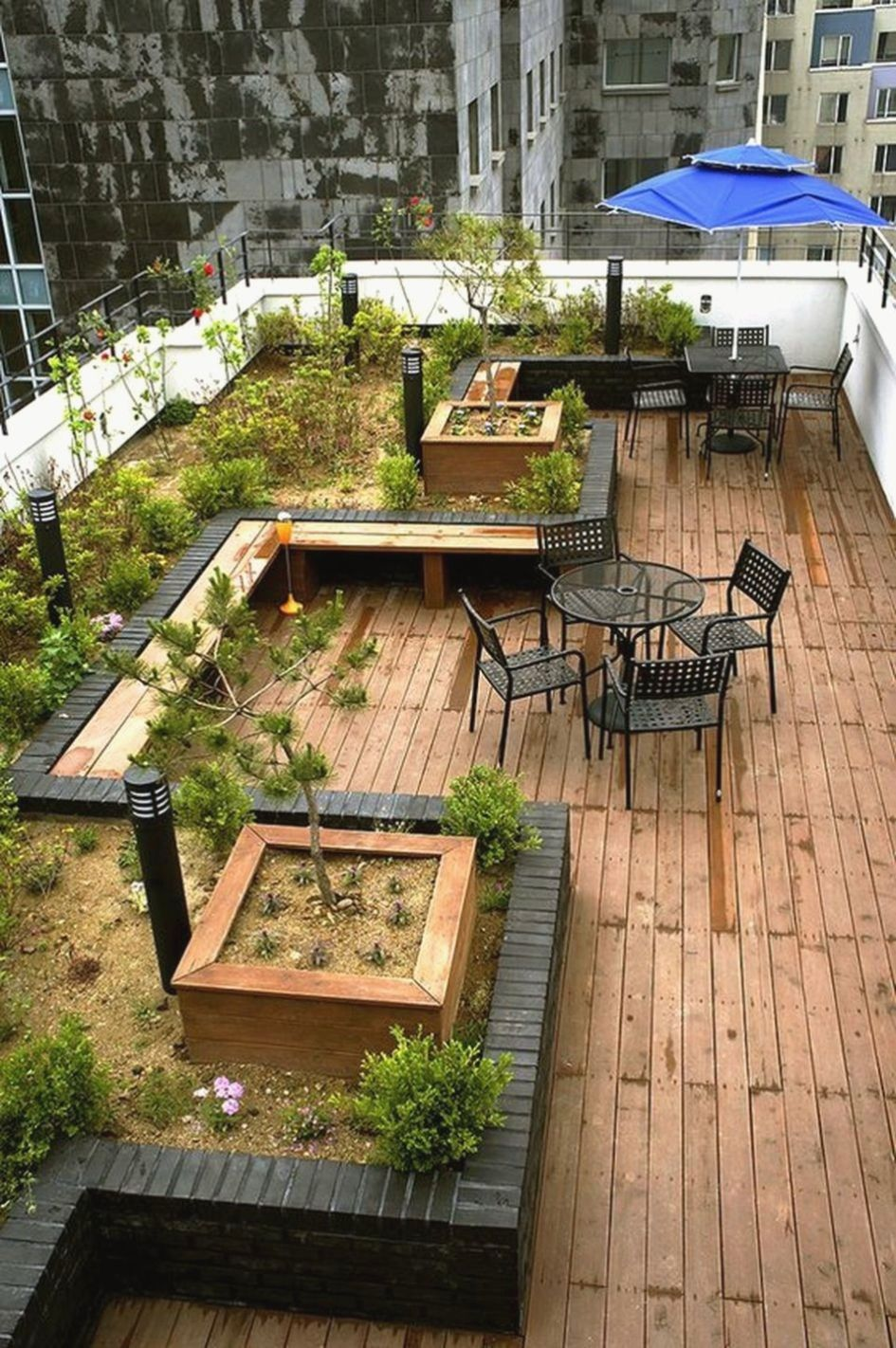 33 Beautiful Rooftop Garden Design Ideas To Adding Your Urban Home