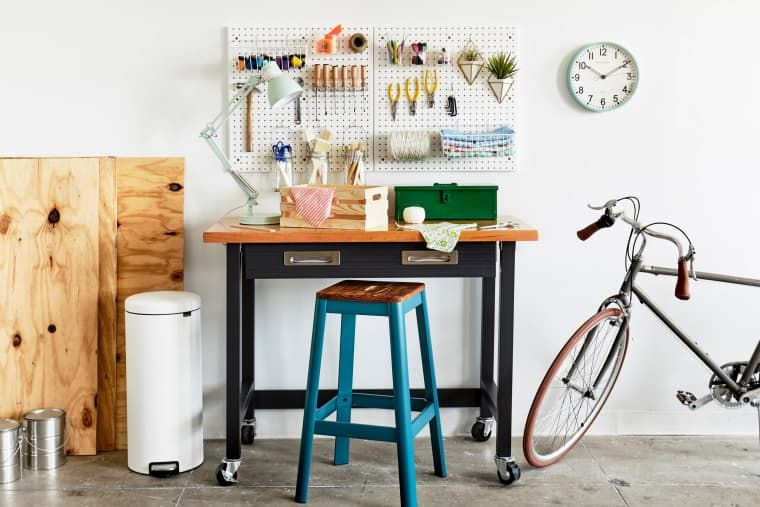 Organize Your Tools in One Weekend with This DIY Work