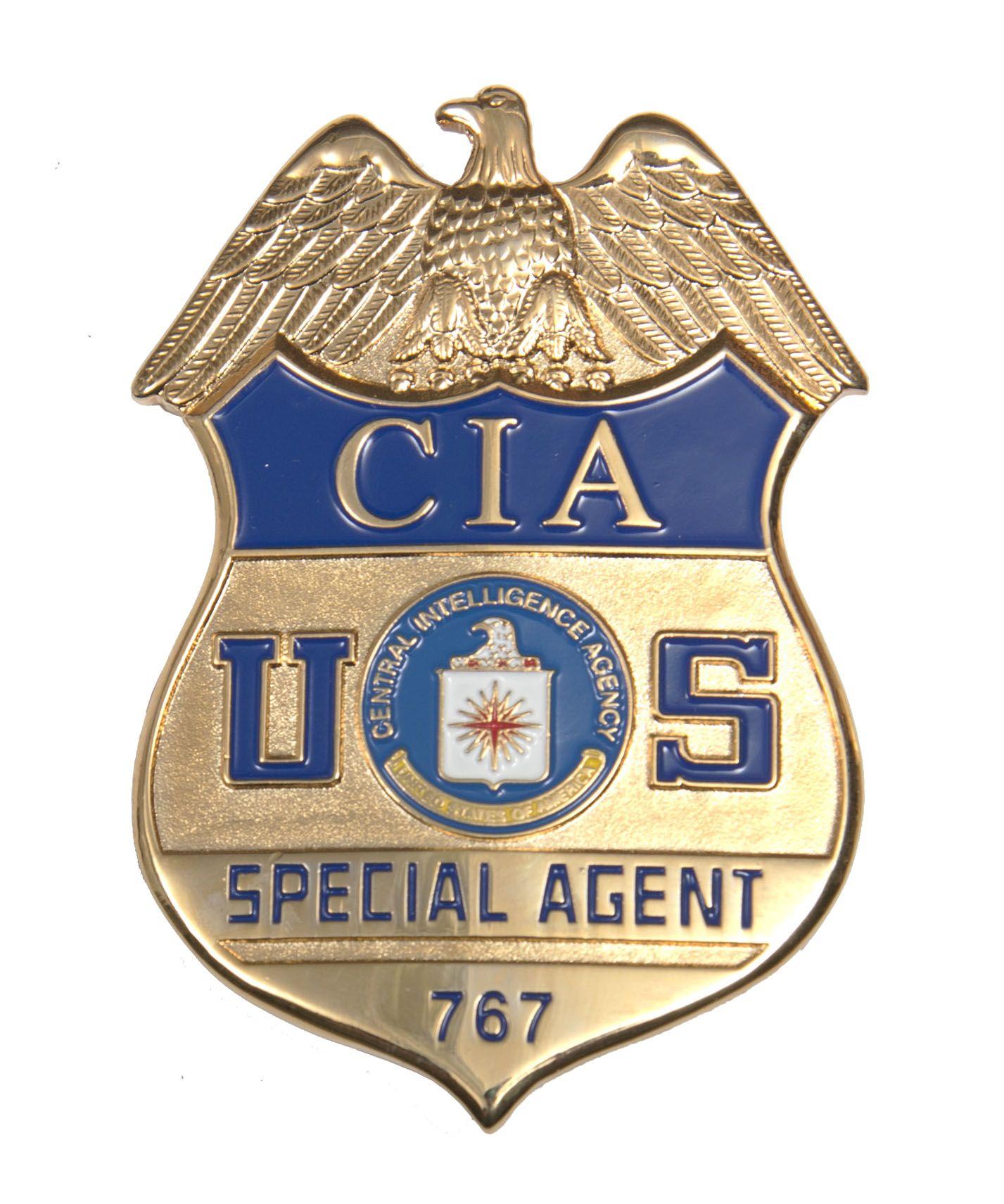 457023519 CIA Badge