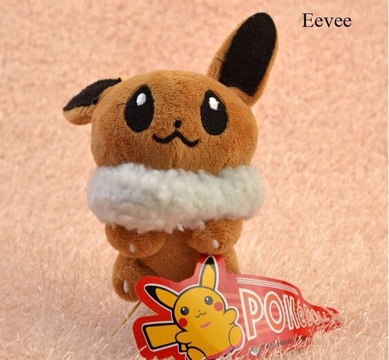 "8 styles 5"" Pokemon Plush Toys Umbreon Eevee Espeon Jolteon Vaporeon Flareon Glaceon Pokemon Stuffed Plush doll kids toys"