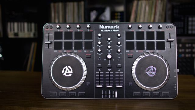 Review Numark Mixtrack Pro Ii Controller For Serato Dj Dj Intro With Images Intro Reviews Dj Gear