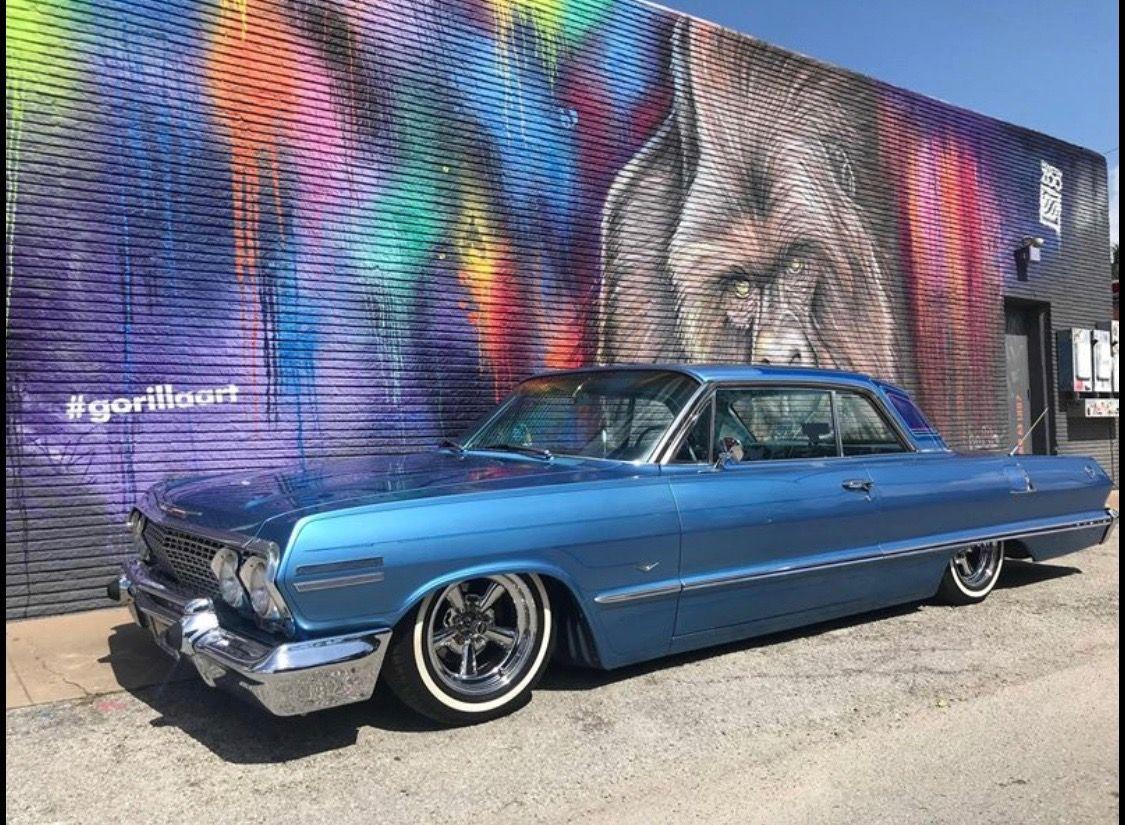 Pin By Juan Morales On Low Rider 1963 Chevy Impala 64 Impala Impala