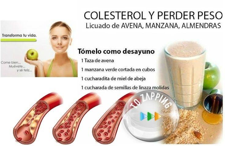 Dietas para reducir el colesterol y bajar de peso