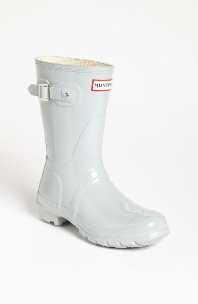7ee63fce77e Smoke white short Hunter Boots | My style in 2019 | Boots, Rain ...