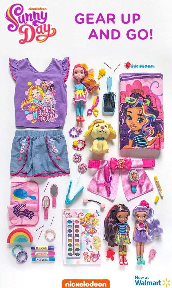 Sunny Day toys, clothing, and more for girls and boys are now