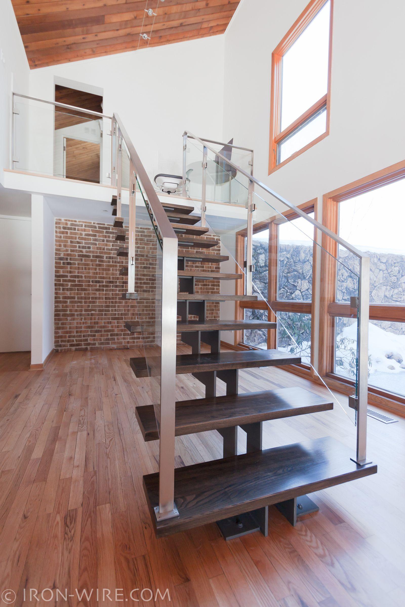 Custom Stairs Chicago, Modern Staircase Design Chicago, Custom Stair  Design, Custom Furniture