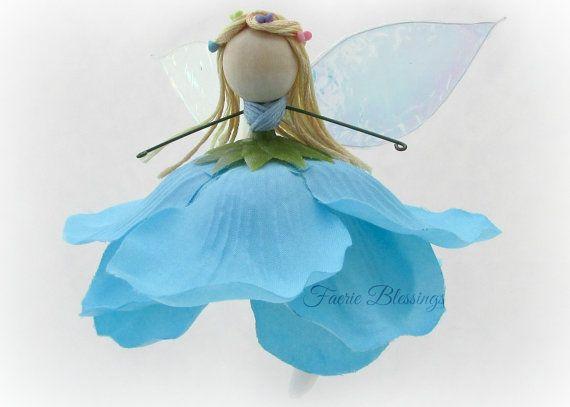 Fairy Doll Cinderella Fairy Ornament Magic by FaerieBlessings