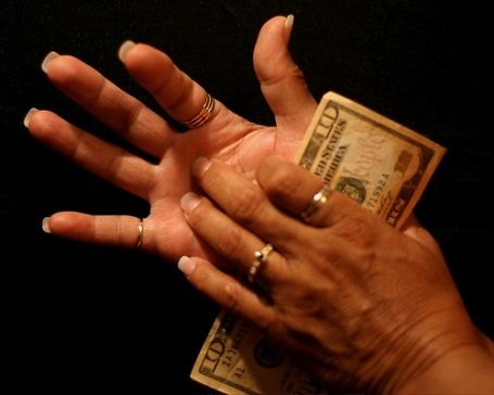 Itchy palms and money    If your left palm is itchy money is coming