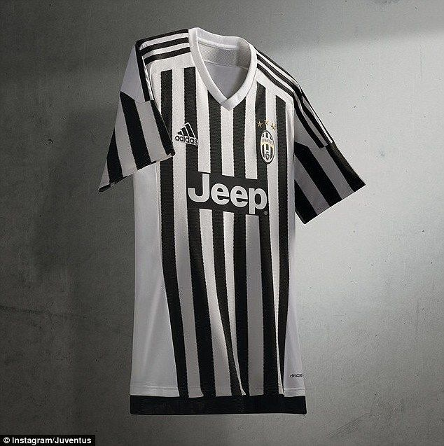 best sneakers 5b0a6 5eddd Juventus unveil new home kit as Adidas deal begins | jersey ...