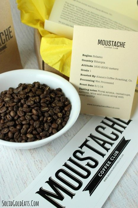 Coffee Bean Delivery With Moustache Coffee Club Solid Gold Eats Eat Coffee Club Coffee Beans