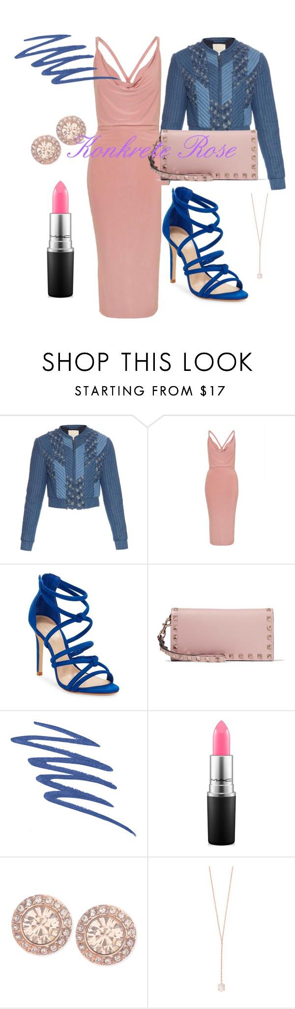 """Bomber Dress"" by konkreterose-kb on Polyvore featuring Rebecca Taylor, Topshop, Schutz, Valentino, NARS Cosmetics, MAC Cosmetics, Givenchy and Samantha Wills"