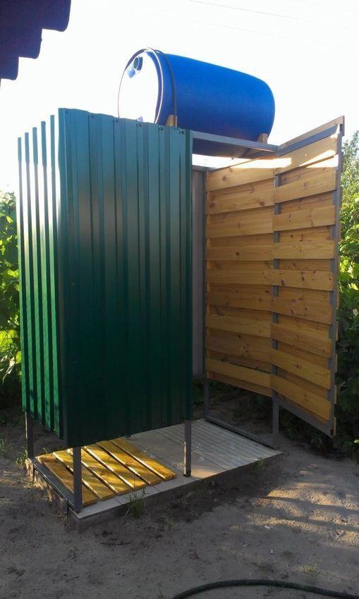 туалет на огороде своими руками из досок