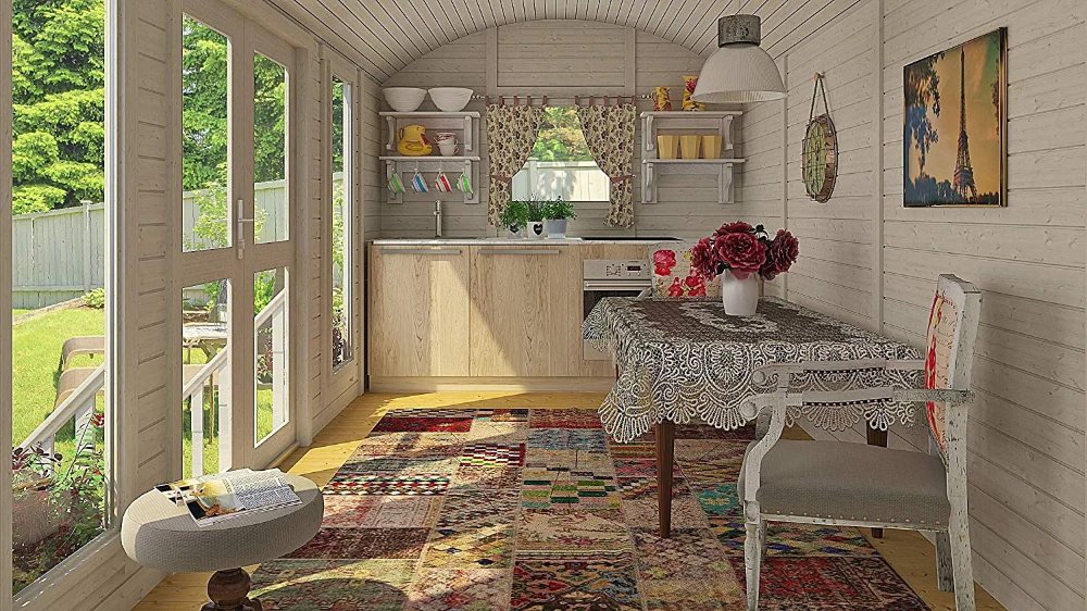 Ten Best Tiny Houses on Amazon | Goldilocks Effect  Garden Cottage, perfect guest house, studio, she-shed or mother-in-law suite.   #tinyhouse #cottage #gardencottage #playhouse #tinyhome #guesthouse