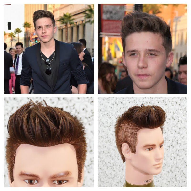 Brooklyn Beckham Haircut Tutorial Thesalonguy Celebs Hair Cuts
