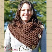 Ravelry: Scarf Cowl pattern by Kimberly Green