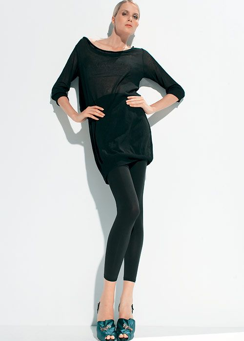 e57762849 Trasparenze Dorella 100 Denier Footless Tights - Available in many colours  at UK Tights