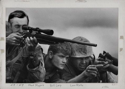 Mr Rogers Sniper Vetnamskaya Vojna Vetnam Snajpery