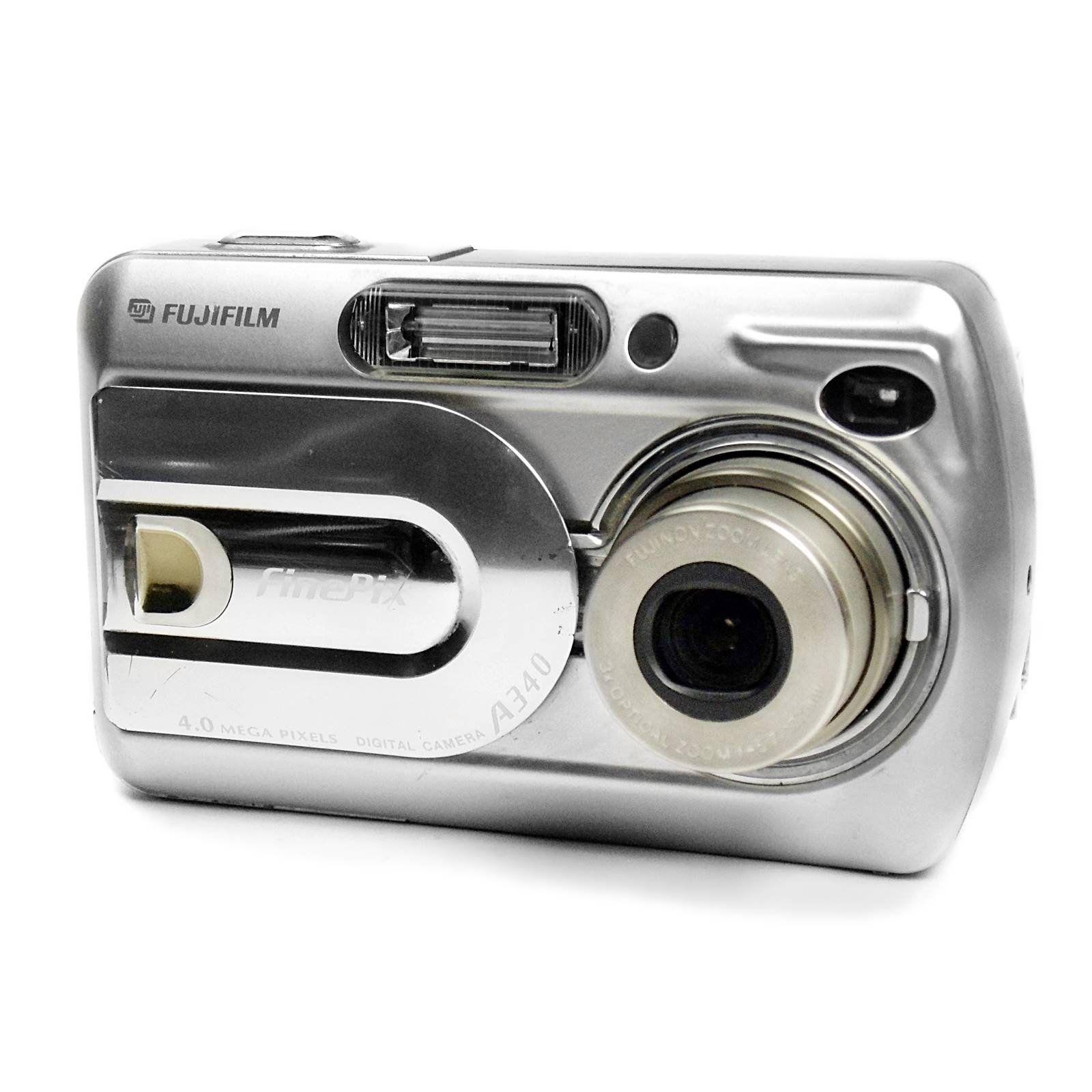 Compact Digital Camera Fujifilm Finepix A340 In Silver Etsy Digital Camera Compact Digital Camera Fujifilm Camera