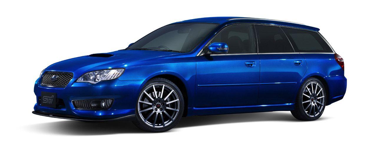 "2008 Subaru Legacy ""tuned by STI"" (JDM) Photo Gallery in"