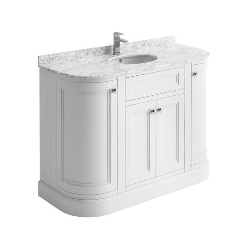 August Grove Noelle 1200mm Free Standing Vanity Unit With Images Bathroom Vanity Units
