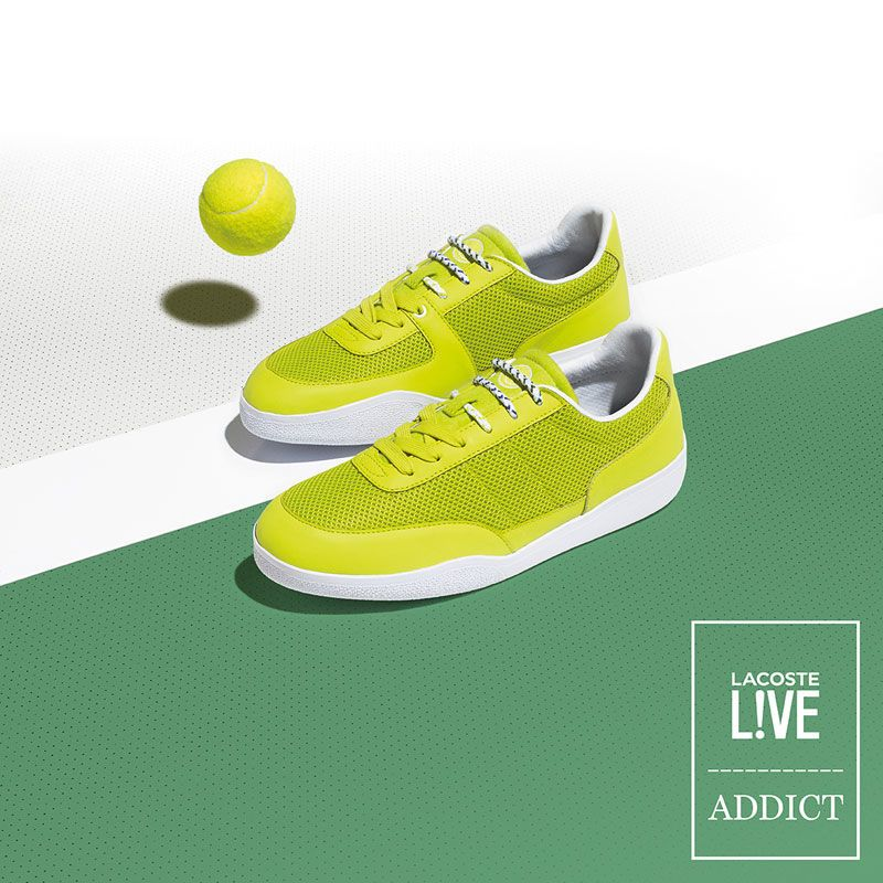 5a0d4ada3ab9a2 Tennis Ball-Inspired Sneakers
