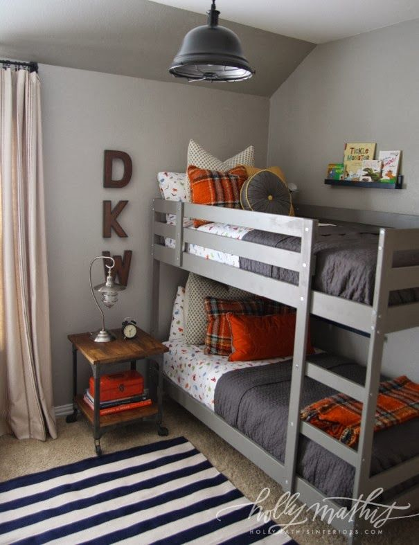 Bunk Beds To Do List Pinterest Boy Room Little Boys Rooms