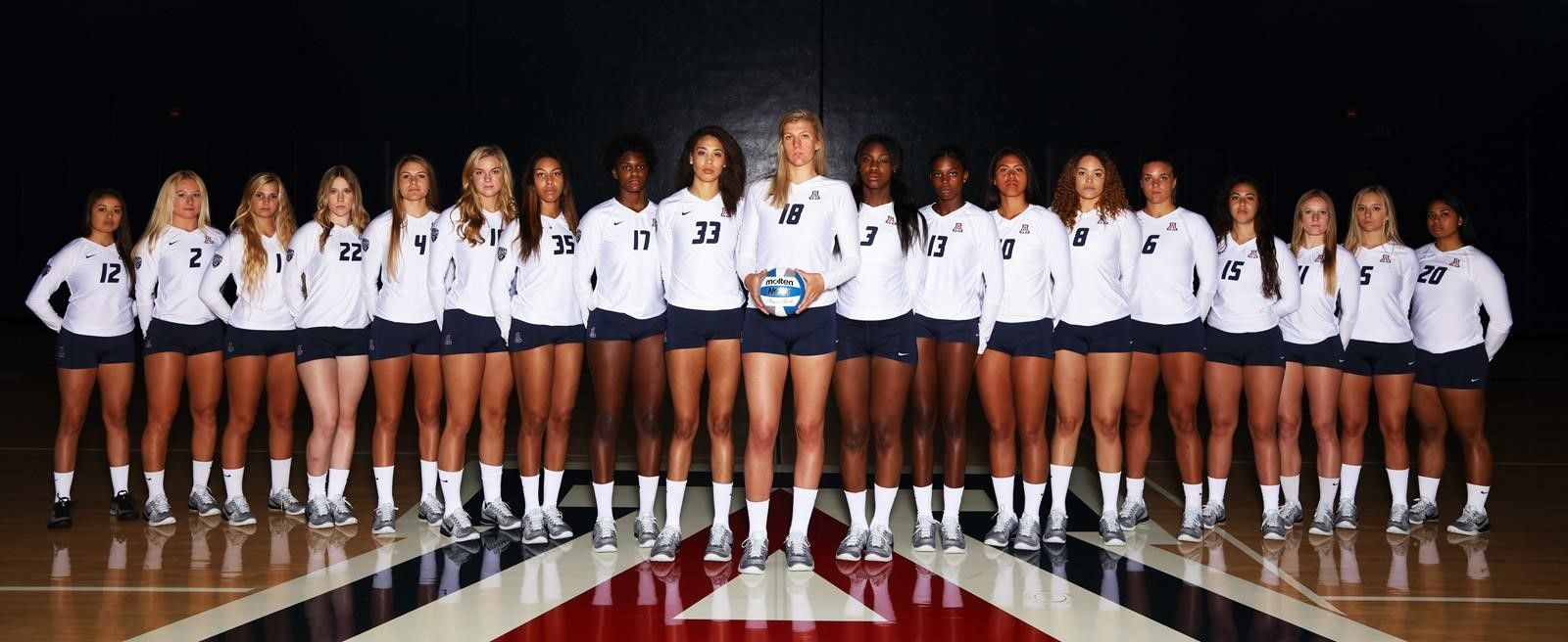 2016 Volleyball Roster Arizonawildcats Com University Of Arizona Athletics Volleyball Roster Volleyball News