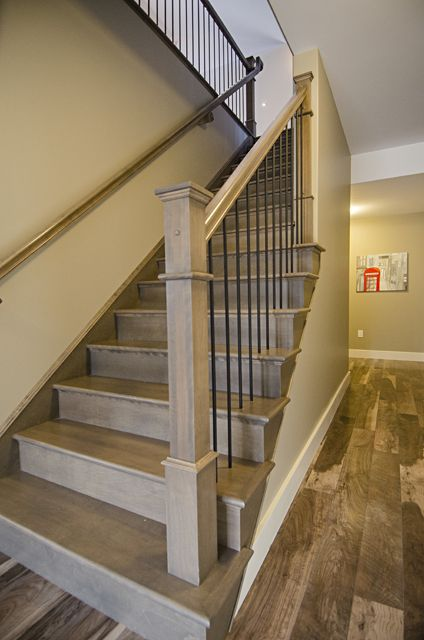 Best Stonewater Homes Beautiful Hardwood Staircase With 640 x 480