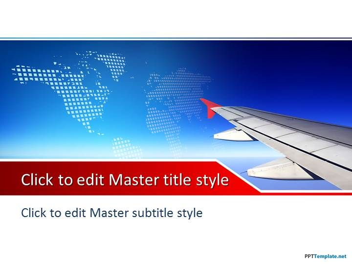 plane powerpoint theme for microsoft powerpoint and short list the items you need to take on