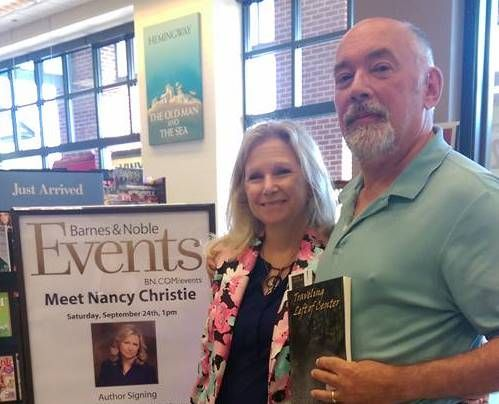 With David Bailey at Barnes & Noble West Chester during Birthday Book Tour 9.2016