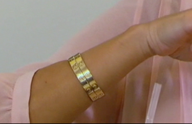 Kourtney Kardashian Wearing Two Cartier Love Bracelets At The Same Time On Kuwtk