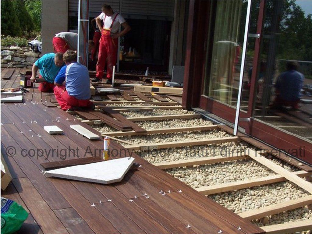 Pavimento in legno per esterno  outdoor  Pinterest ...