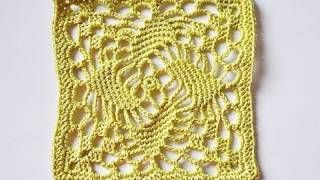 "Advent Calendar * December 05 * Granny Square ""Windmill"", via YouTube."