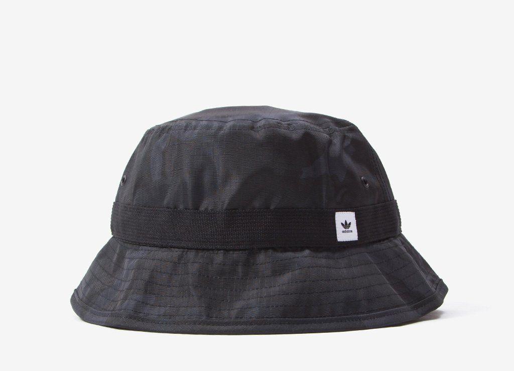adidas Originals ST Cam Bucket Hat Black Camo | Adidas