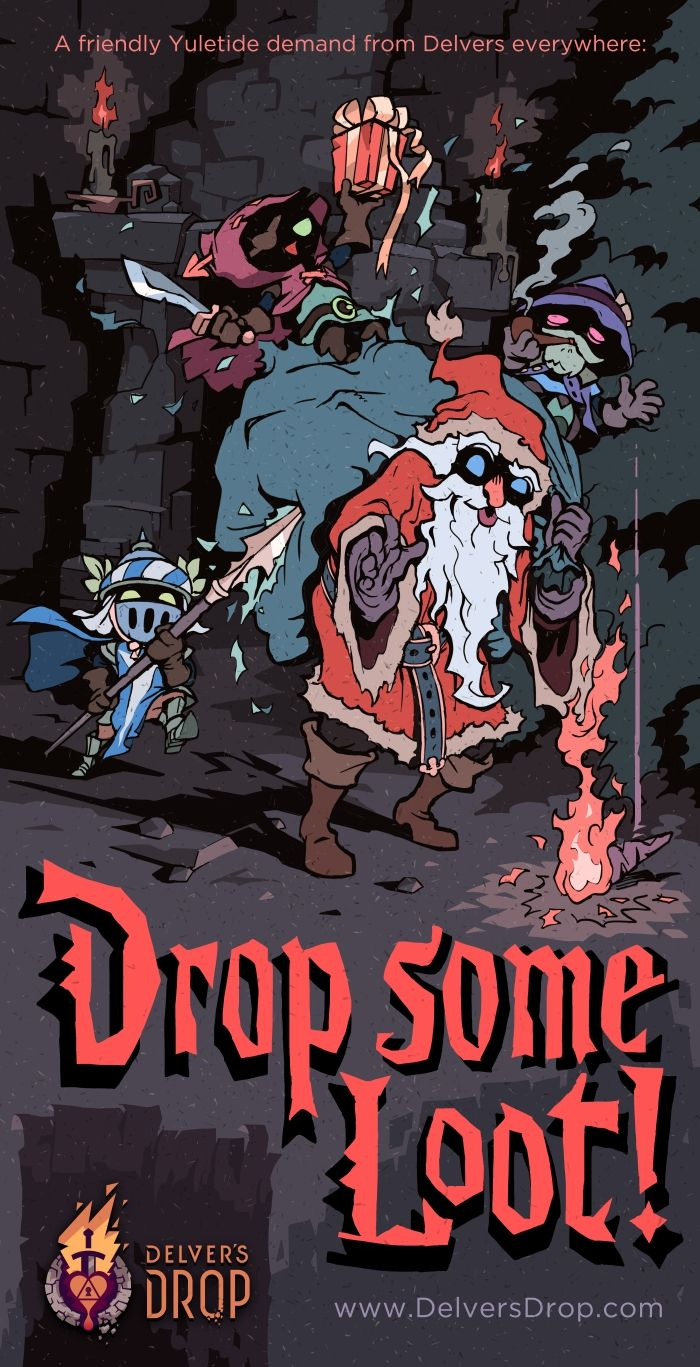 Drop Some Loot game art