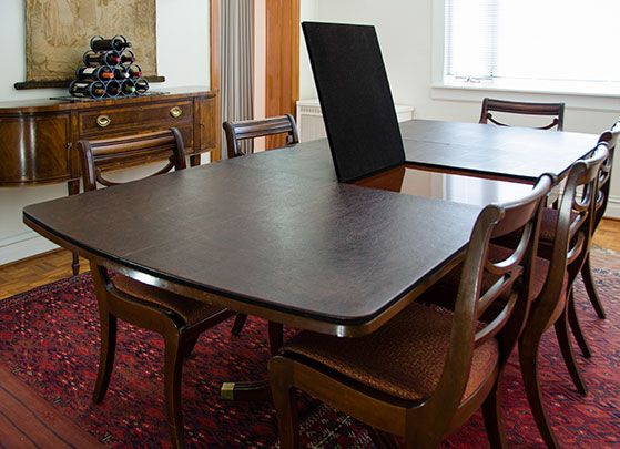 Dining Table Pads \u2013 Pads for Saving Your Dining Table\u0027s Life
