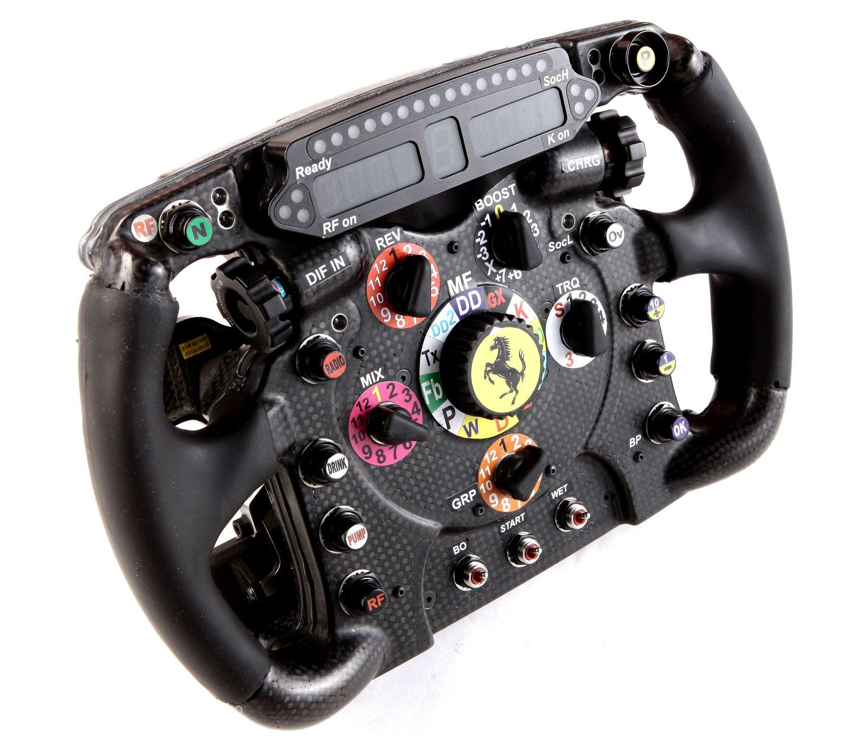 Ferrari F2012 steering wheel Ferrari, Ferrari f1