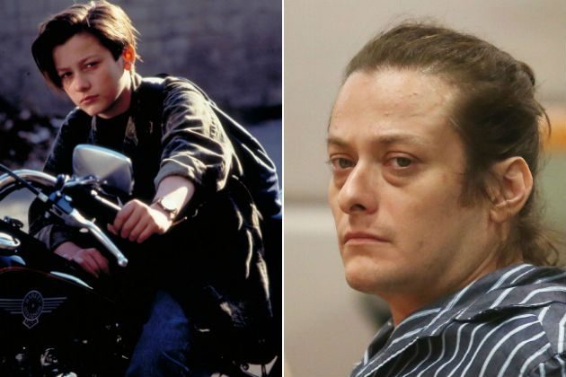 Terminator 2 Edward Furlong Edward Furlong Stars Then