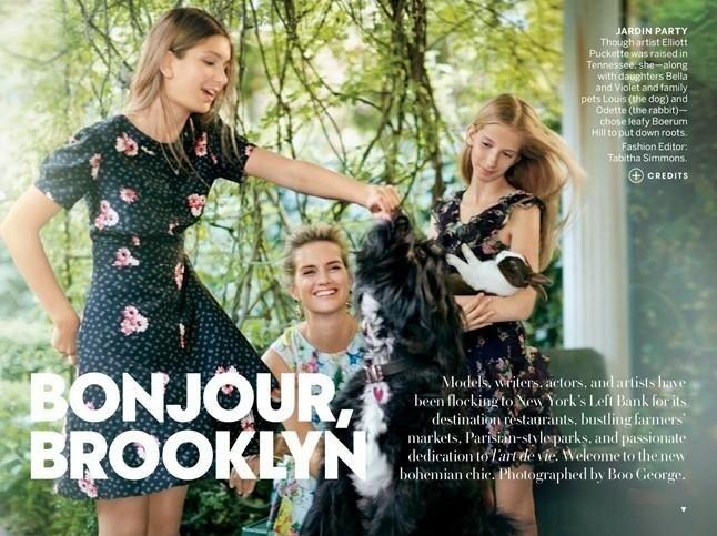 BONJOUR, BROOKLYN (American Vogue)