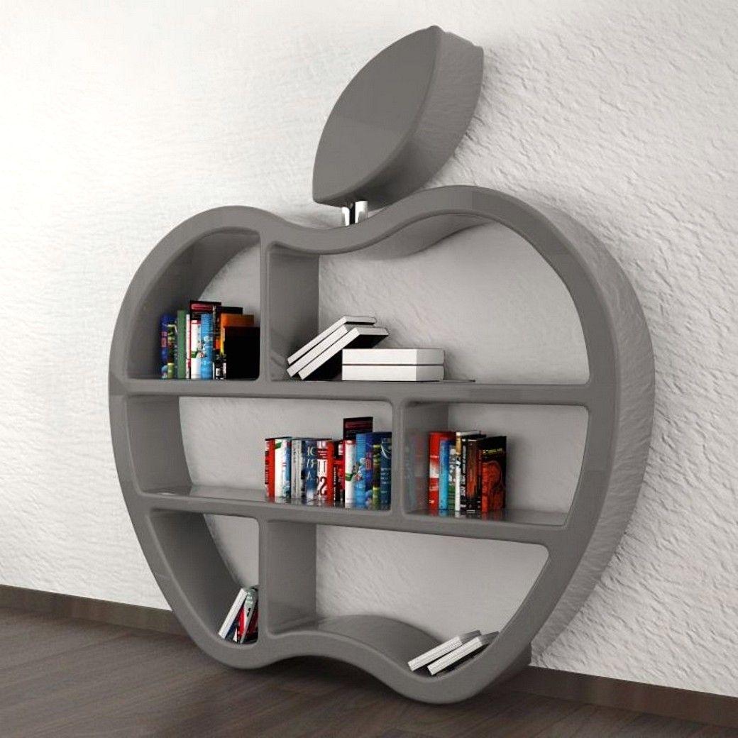 Rak Buku Unik Berbentuk Apple is part of Living room designs -
