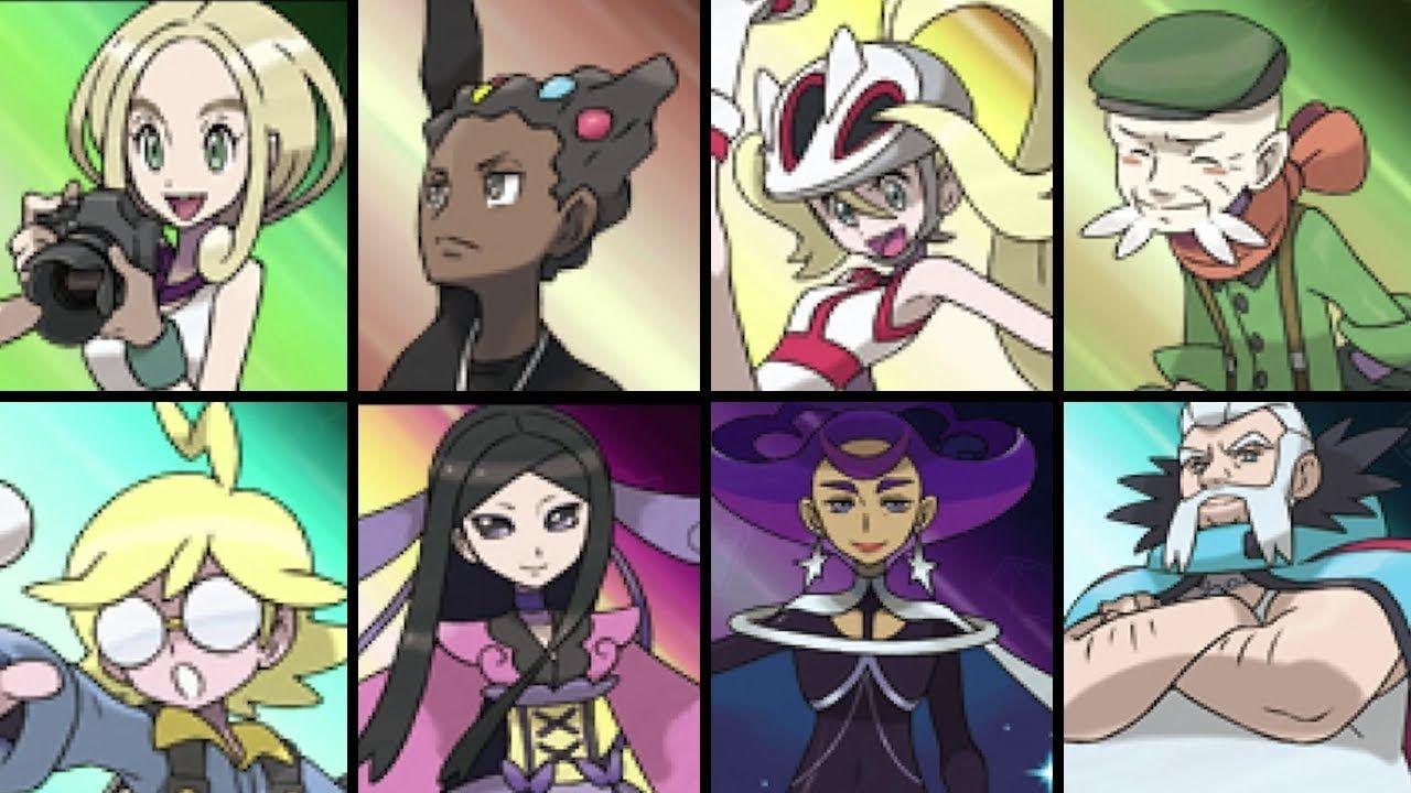 Pokemon X And Y All Gym Leader Battles All Gym Leaders Gym