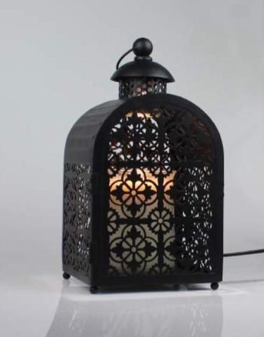 pre order black cage christmas electric candle warmer lantern lamp 35w candles sniffs u0026 gifts