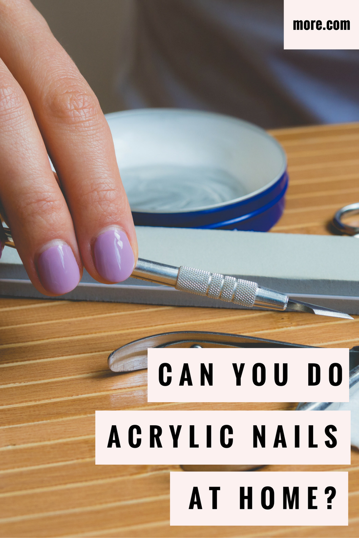 Can You Do Acrylic Nails At Home? | Manicure, Acrylics and Art nails