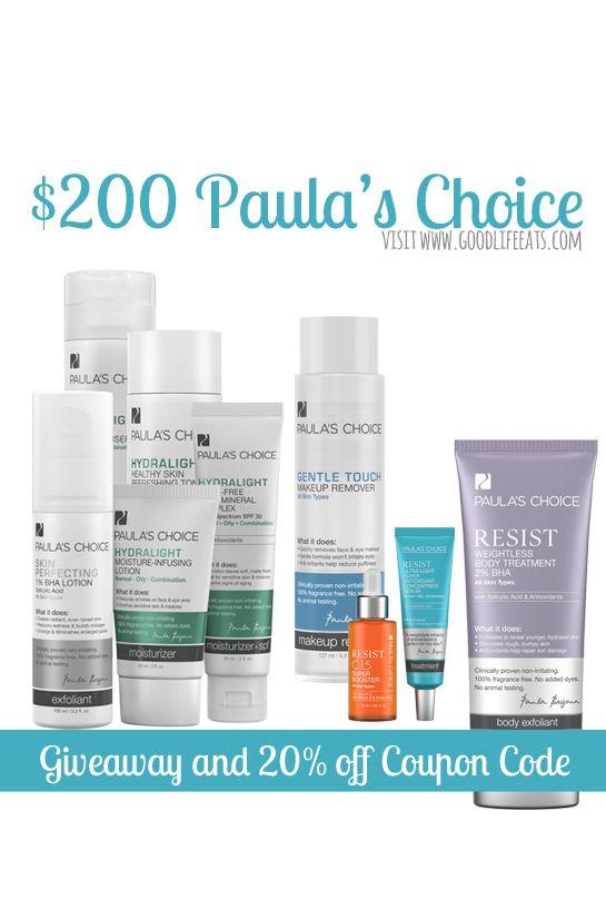 Paula S Choice Giveaway And Paula S Choice Coupon Code Paulas Choice Giveaway Coding