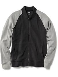 Pique Bomber Jacket for Men