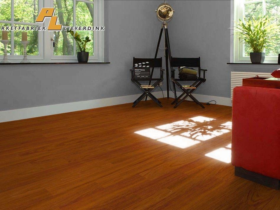 Een veelzijdige jatoba houten vloer. uw jatoba houten vloer heeft
