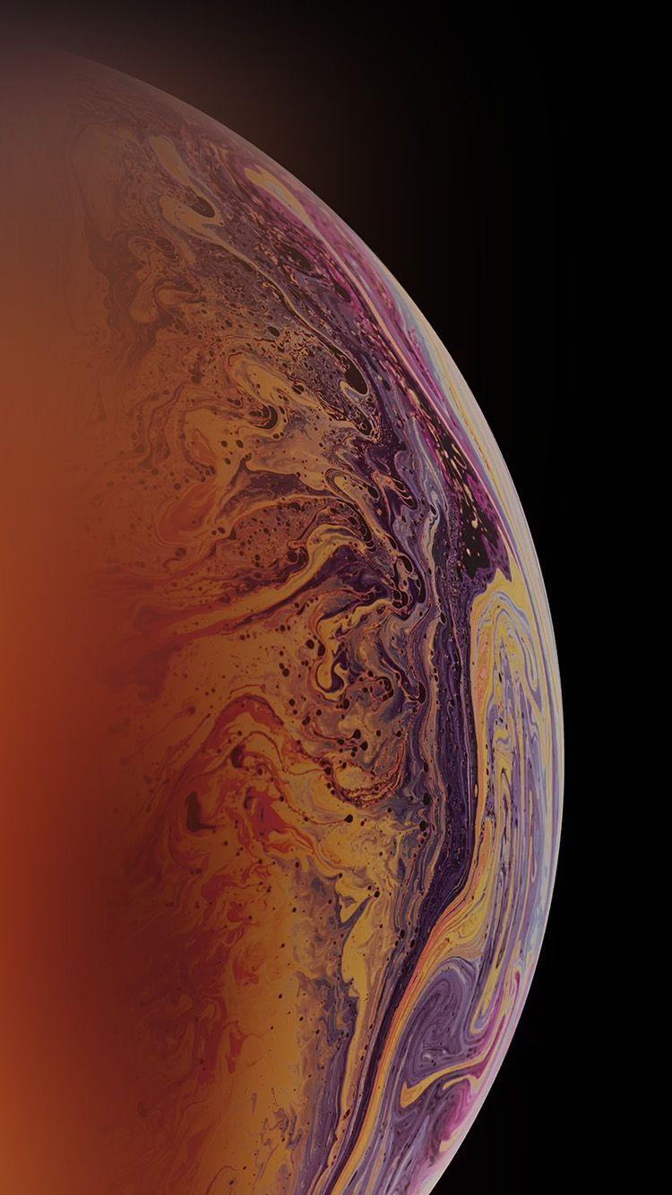 Bg45 Apple Bubble Rainbow Iphone Xs Max Art En 2020 Fondos De