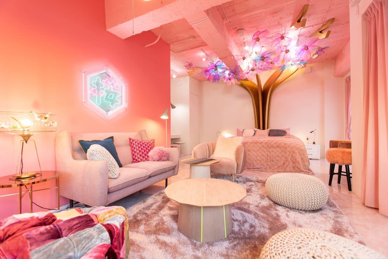 Kawaii Culture In Harajuku Moshimoshirooms Sakura Wohnungen Zur Miete In Shibuya Ku Tōkyō To Japanese Home Decor Japanese Themed Bedroom Living Room Colors